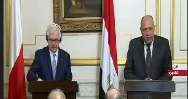 وزير الخارجية: الحملة الأمنية لتطهير سيناء تتم بمنطقة محدودة جدا من مساحتها