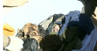شاهد.. رفات أكراد فى العراق لقوا حتفهم على أيدى قوات صدام حسين