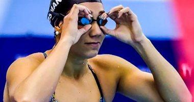 فريدة عثمان تحصد فضية 50 متر حرة بألعاب إفريقيا