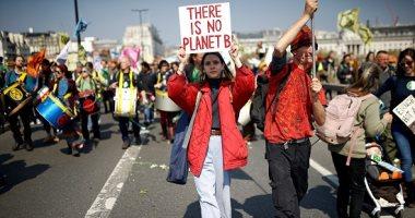 صور.. مظاهرات بريطانية للحد من التغيرات المناخية