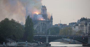 ماجد عثمان داعيا للتبرع لإعادة إعمار كاتدرائية نوتردام: خسارة للتراث الإنسانى