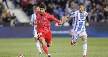 ليجانيس ضد ريال مدريد.. الملكي يتأخر بهدف فى اللحظات الأخيرة من الشوط الأول