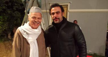 """محمود عامر جناينى فى مسلسل """"هوجان"""" مع محمد إمام"""