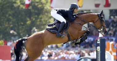 الأولمبية تهنىء عبدالقادر سعيد بذهبية بطولة الجائزة الكبرى للفروسية ببلجيكا