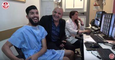 فرجانى ساسى يكشف سر بكائه بعد الإصابة.. وسبب طلب علاجه فى تونس (فيديو)