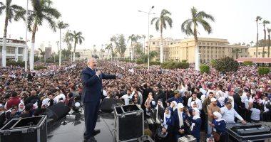 رئيس جامعة القاهرة: 70 ألف طالب وطالبة حضروا حفل محمد حماقى.. صور
