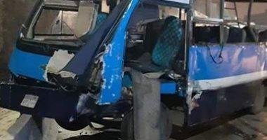 قارئة تشارك بصور لحادث تصادم بدائرى السلام وأنباء عن وجود وفيات