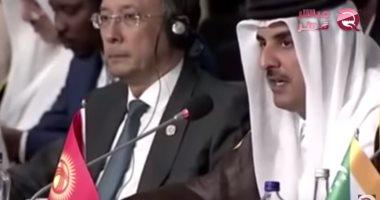 """شاهد.. """"مباشر قطر"""" تفضح انهيار الدوحة واستغاثة النظام القطرى الإرهابى"""