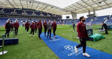 Porto VS Liverpool .. نجوم ليفربول يتفقدون ملعب الدراجاو قبل مواجهة بورتو