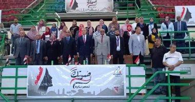 """المجلس القومى للمرأة يواصل فعاليات حملة """"صوتك لمصر بكرة"""" لليوم الرابع بقنا"""