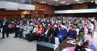 """""""القومي للمرأة"""" يواصل فعاليات حملة """"صوتك لمصر بكرة"""" لليوم الرابع بأسيوط"""