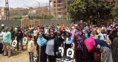 """المجلس القومي للمرأة  ينظم فعاليات حملة """"صوتك لمصر بكرة"""" بالجيزة"""