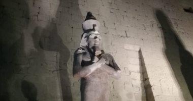 شاهد.. صورة لـ معبد الرامسيوم فى الأقصر عمرها 159 سنة