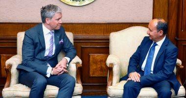 وزير التجارة يبحث مع نائب وزير الاقتصاد الإستونى سبل تعزيز التعاون بين البلدين