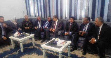 وزيرا الشباب والقوى العاملة يشاركان بالمؤتمر القومى لشباب العمال بشبرا الخيمة
