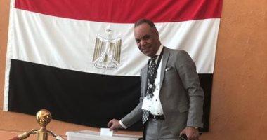 صور.. المصريون بالدوحة يدلون بأصواتهم فى الاستفتاء على تعديلات الدستور