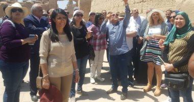 الدكتورة رانيا المشاط: السياحة الثقافية فى مصر تشهد انتعاشة بفضل الاكتشافات الأثرية