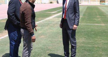 محمد فضل يواصل جولاته لتفقد ملاعب التدريب استعداداً لأمم أفريقيا
