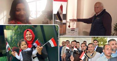 شاهد فى دقيقة.. متجمعين فى حب مصر .. شارك فى الاستفتاء