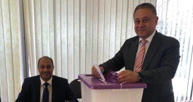 ننشر صور تصويت المصريين على التعديلات الدستورية فى سفارة مصر باستراليا