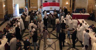 غلق صناديق الاقتراع بسفارة مصر فى الرياض وقنصلية جدة فى اليوم الأول للاستفتاء