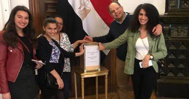 صور.. تزايد إقبال المصريين بالسويد للمشاركة فى الاستفتاء على التعديلات الدستورية