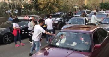 فيديو.. مسيرة لحث المواطنين على المشاركة بالاستفتاء على تعديل الدستور بمدينة نصر