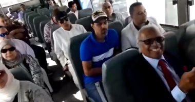 فيديو.. الجالية المصرية بالكويت تشارك فى الاستفتاء على تعديلات الدستور