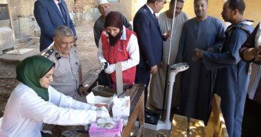 الصحة: فحص 76 ألف و716 وافد من غير المصريين بـ 100 مليون صحة  -