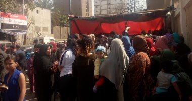 صور.. تزايد أعداد المشاركين فى الاستفتاء بلجان الزاوية والويلى
