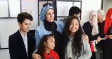 فيديو.. لقطات حية من عملية استفتاء الدستور داخل قنصلية مصر بميلانو