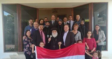 فيديو وصور..ممثلو الكنيسة المصرية فى جوهانسبرج يدلون بأصواتهم بالاستفتاء