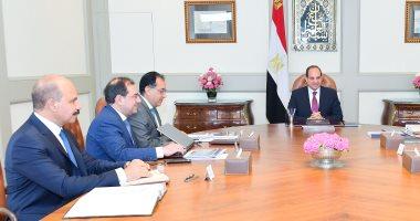 الرئيس السيسي يوجه بتطوير صناعة البتروكيماويات لتواكب السوق العالمية