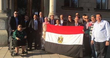 المصريين فى السويد يواصلون المشاركة بالاستفتاء لليوم الثانى.. صور