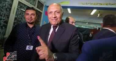 """وزير الخارجية: تصويت المصريين فى الخارج يتزايد بشكل ملحوظ """"فيديو"""""""