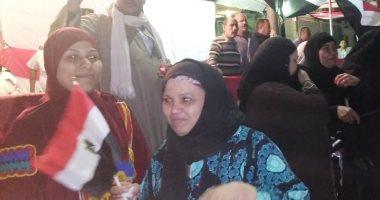 فيديو وصور .. زغاريد وإقبال على لجنة الجامعة العمالية بمدينة نصر