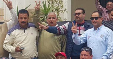 شاهد ..أعضاء مجلس إدارة بلدية المحلة يشاركون في الإستفتاء علي التعديلات الدستورية