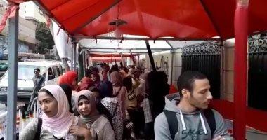 فتيات لجان قصر الدوبارة: نعم للدستور