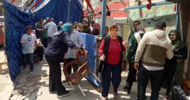 صور.. تزايد إقبال الناخبين بلجان عين شمس وعزبة النخل فى ثانى أيام الاستفتاء