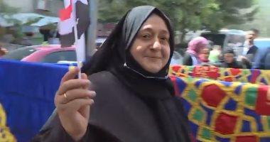 والدة الشهيد محمد حامد: قلت نعم للتعديلات حتى يكمل القائد المسيرة
