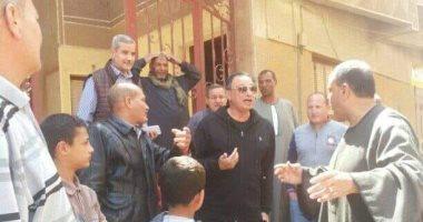الخطيب يزور قريته بالدقهلية لحث المواطنين على المشاركة فى الاستفتاء.. صور