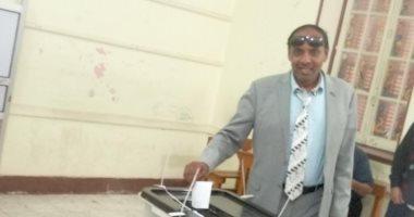 جمال محمد على  يصوت بنعم على التعديلات الدستورية