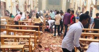 فيديو.. اللحظات الأولى لانفجارات كنيسة سريلانكا