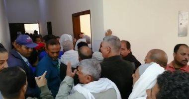 فيديو.. إقبال كثيف بلجان الشيخ زايد باليوم الثانى للاستفتاء على تعديلات الدستور
