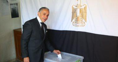 """سفير مصر ببغداد لـ""""اليوم السابع"""": مشاركة متميزة بالاستفتاء لليوم الثالث"""