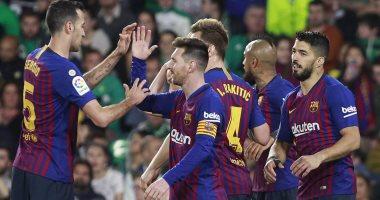 برشلونة ضد فالنسيا.. ميسي يسجل هدف البارسا الأول ويقلص النتيجة إلى 2 - 1