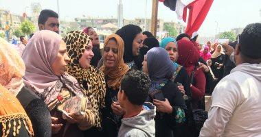 زحام وطوابير على لجان المرج للاستفتاء على التعديلات الدستورية