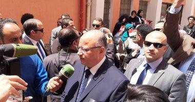 وزير التنمية المحلية ومحافظ القاهرة يتفقدان اللجان فى الزمالك