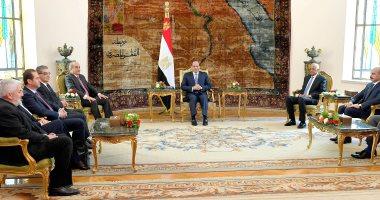 السيسي يرحب بمبادرة رئيس البرلمان القبرصى بتدريس اللغة العربية فى قبرص
