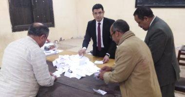 صور .. بدء فرز الأصوات فى لجان محافظة بنى سويف